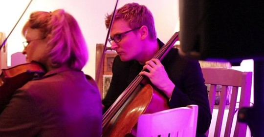 ALEXANDER CELLO PLAYER | TURN UP THE MUSIC LAUNCH EVENT CONCERT