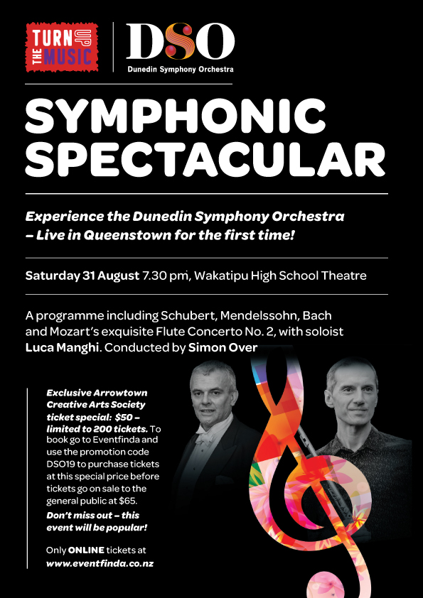 SYMPHONIC SPECTACULAR | DSO DUNEDIN SYMPHONIC ORCHESTRA | TURN UP THE MUSIC EVENT